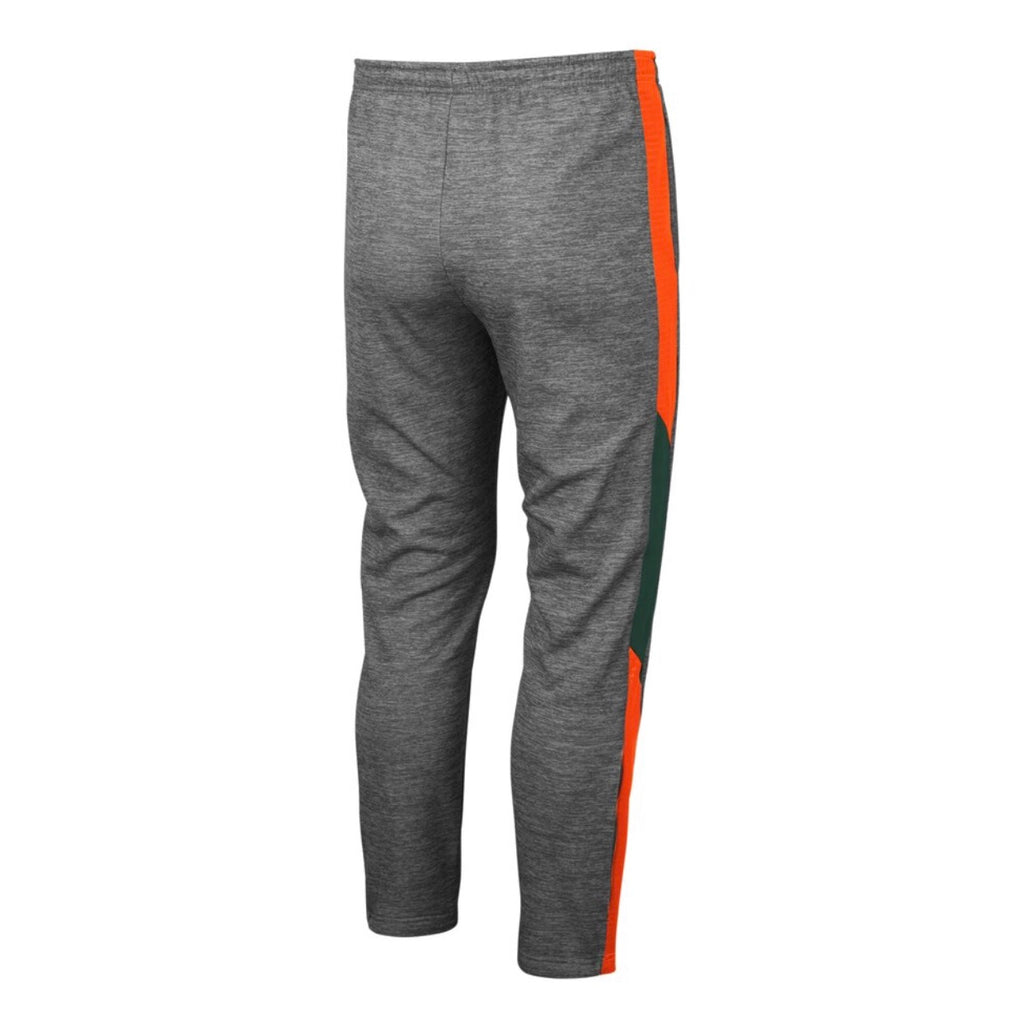Miami Hurricanes 2019 MEN'S BART PANTS - Heather Grey
