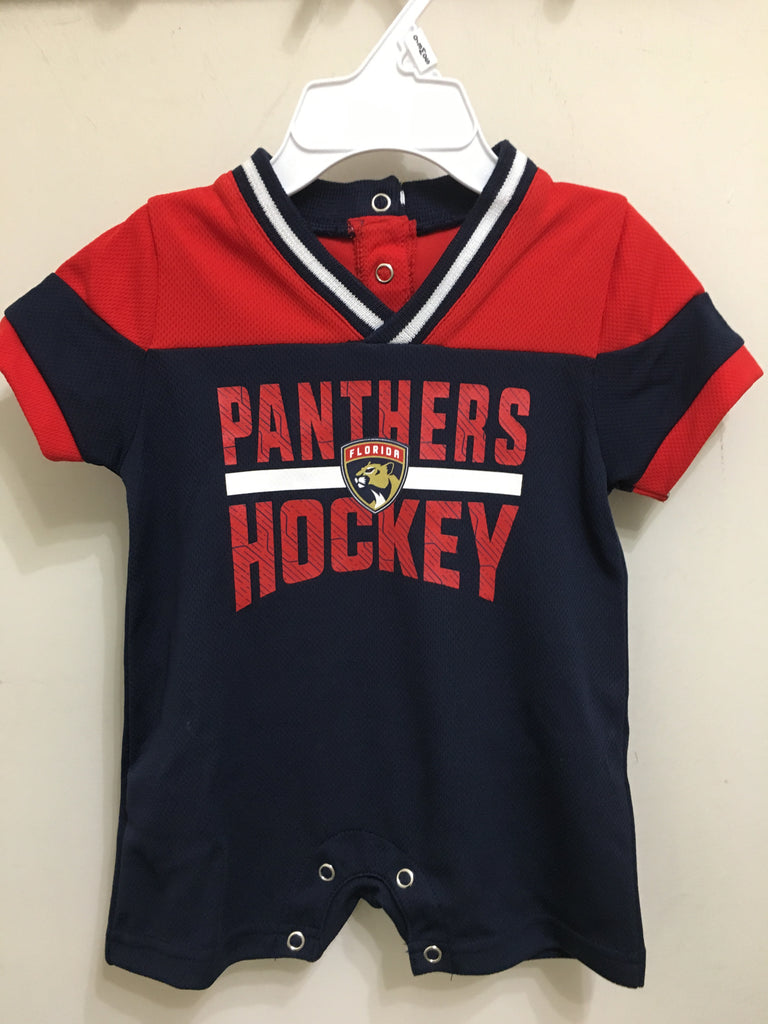 Florida Panthers Infant Blocked Romper