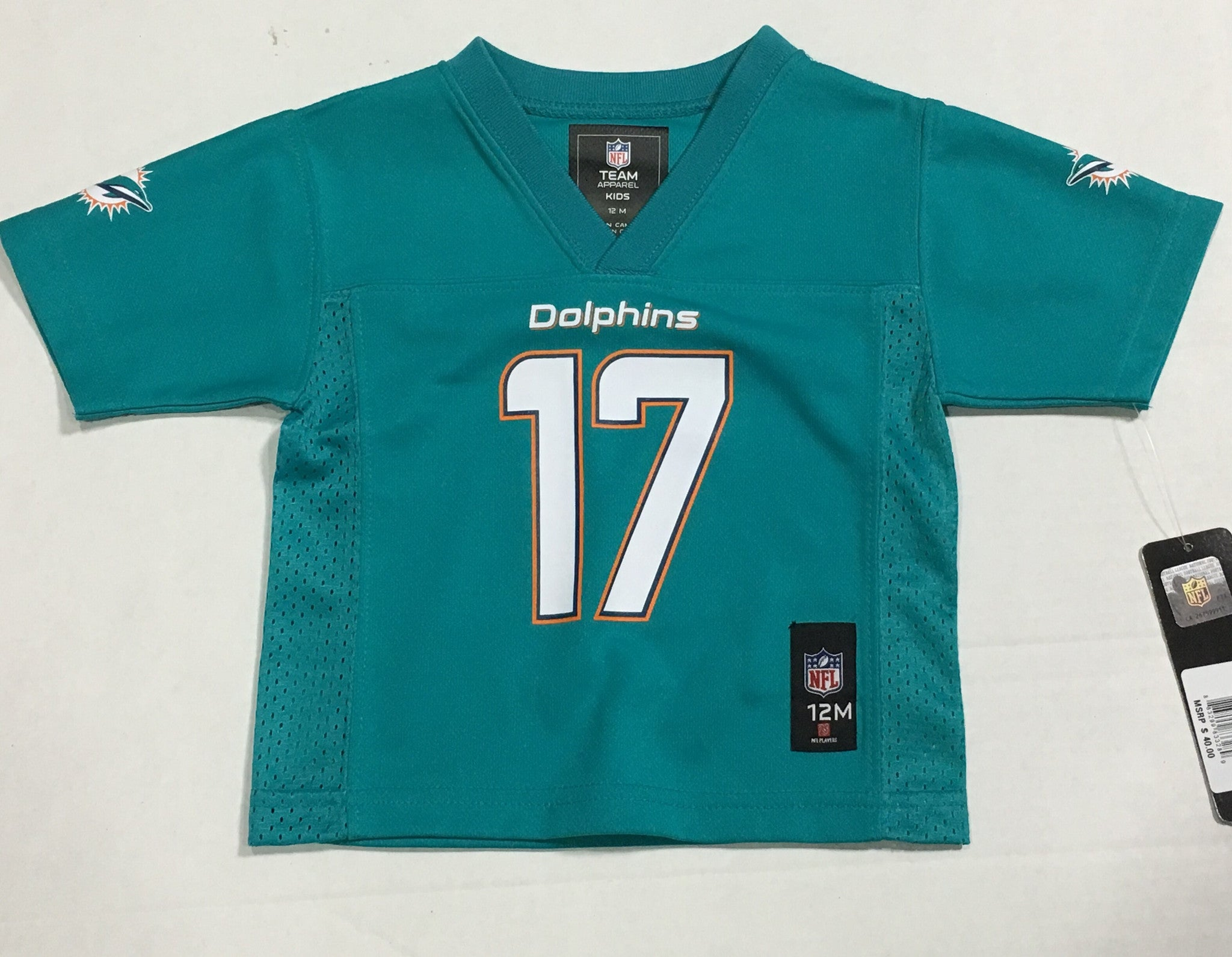 info for ce339 744b0 Miami Dolphins Toddler Jersey #17