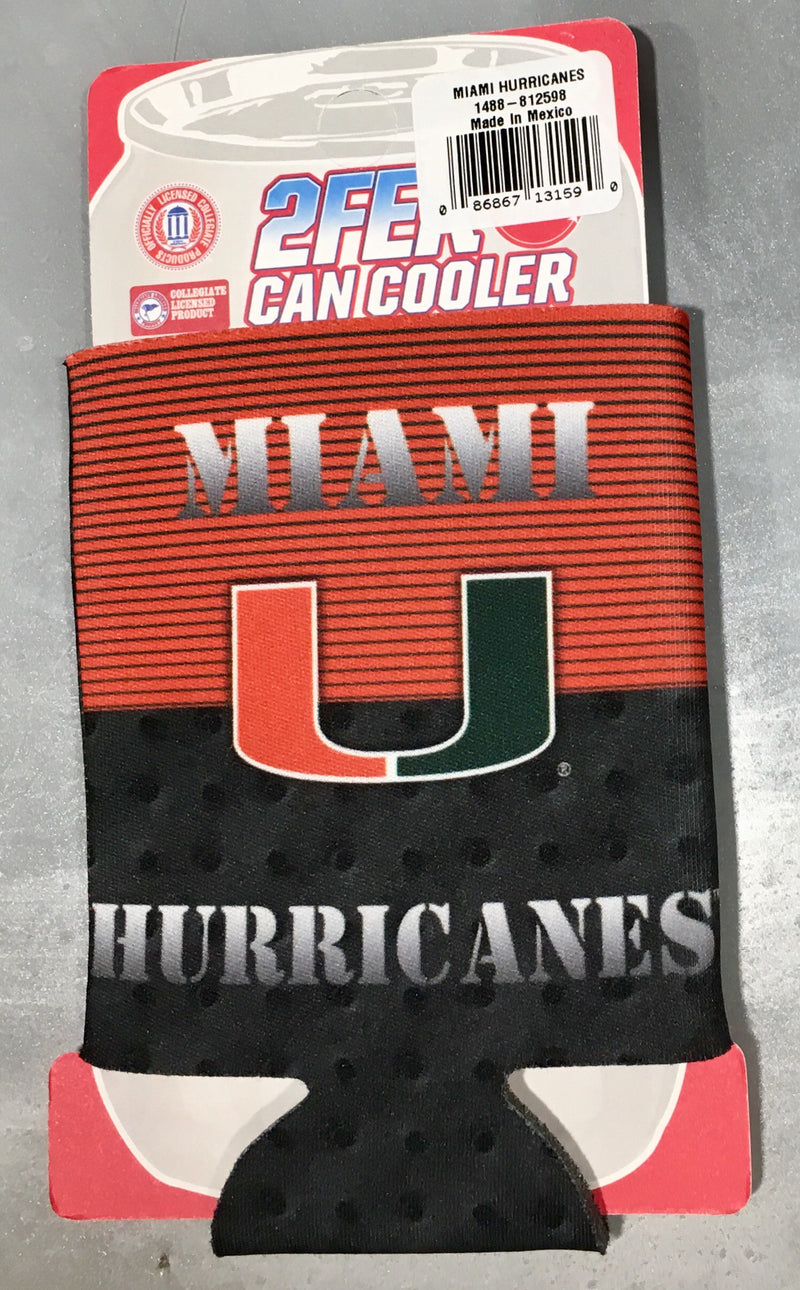 Miami Hurricanes 2fer Color Rush Can Hugger Coozie