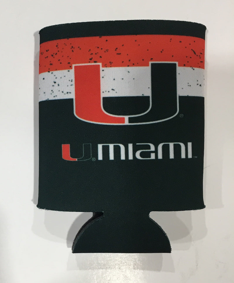 Miami Hurricanes 'Canes Watch Can Koozie