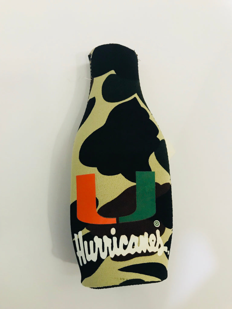 Camo Bottle Coozie
