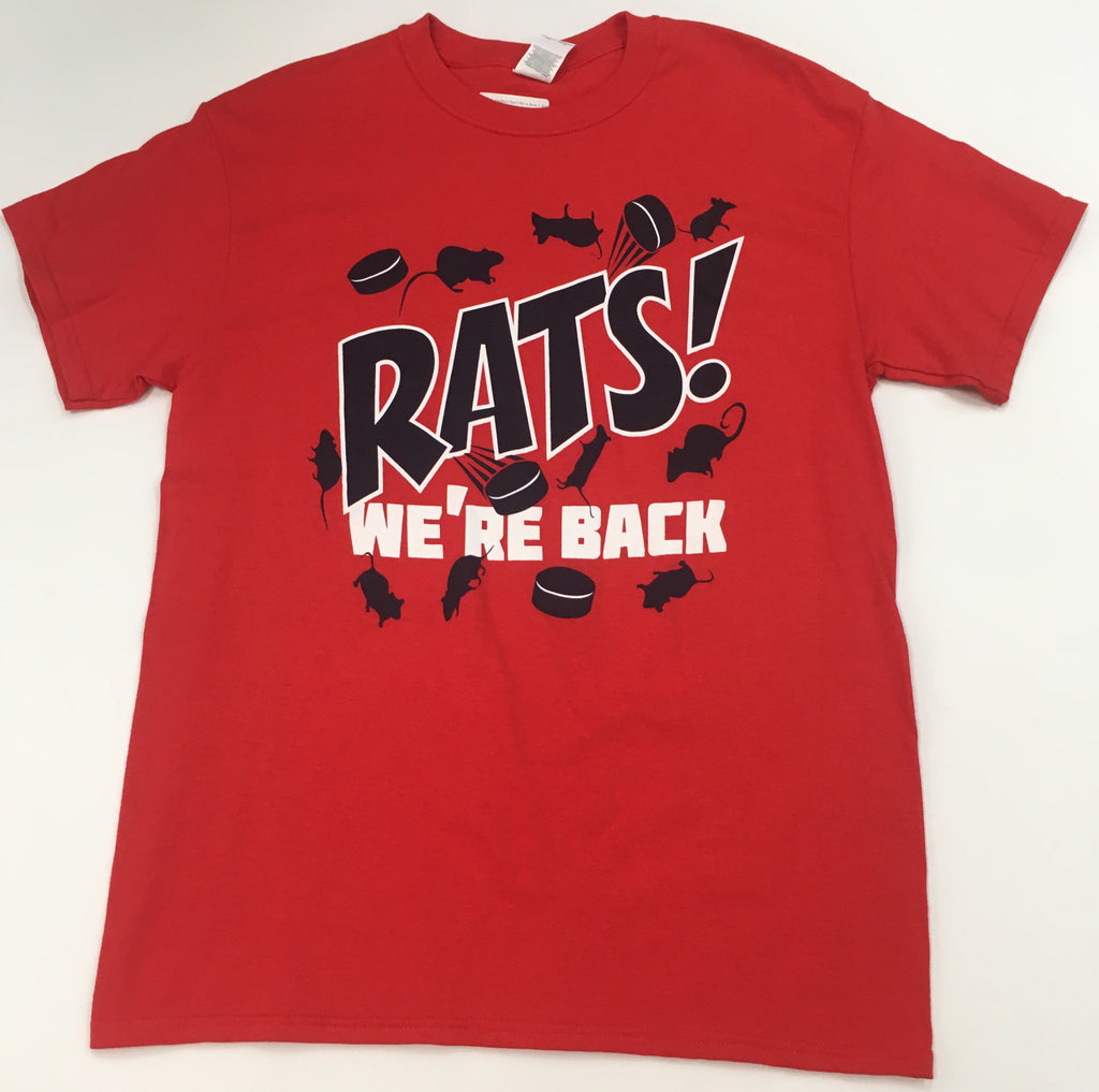 Florida Panthers Rats! We're Back T-Shirt