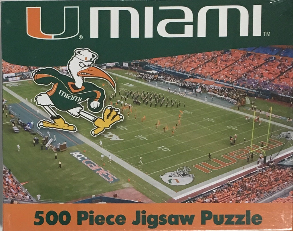 Miami Hurricanes 500 pc Puzzle