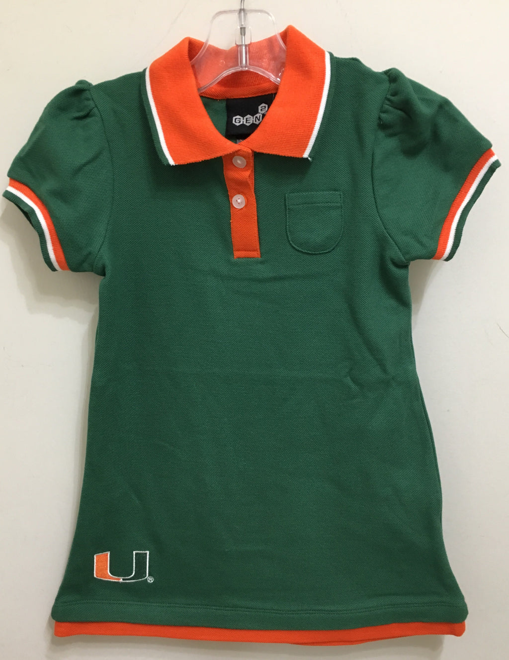 Miami Hurricanes Youth Girl's Dress