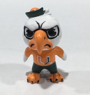 "Miami Hurricanes Tokyodachi 3"" Collectible Figurine by Zephyr"