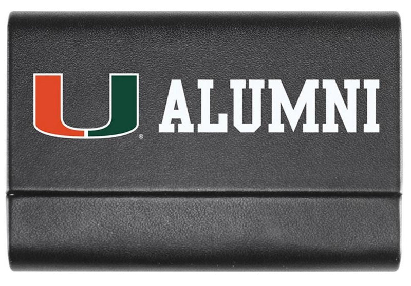 Miami Hurricanes Alumni Business Card Case
