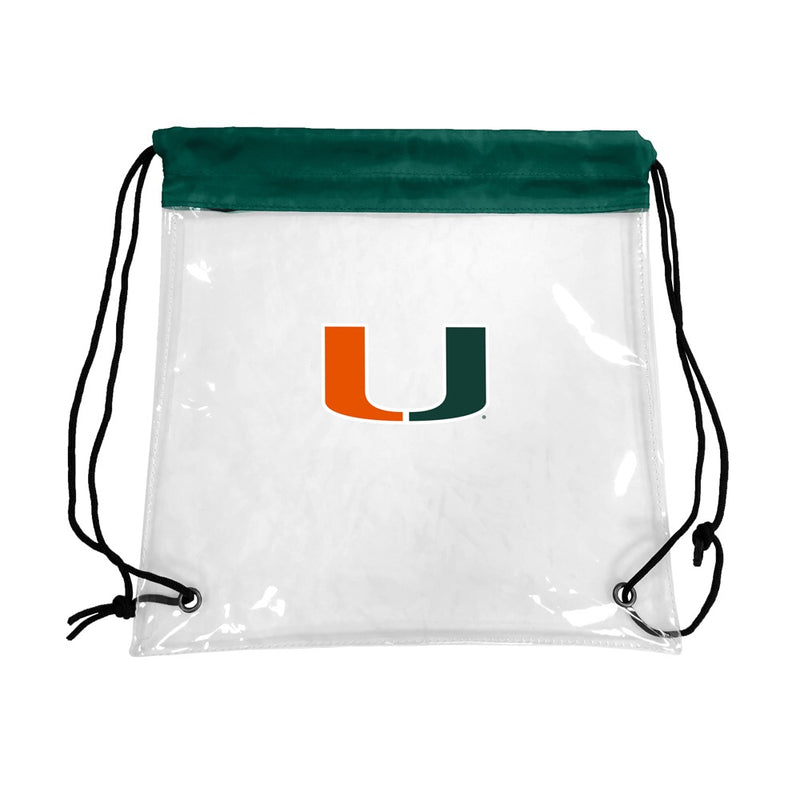Miami Hurricanes Rally Clear Backsack