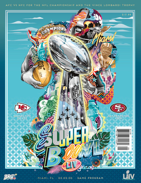 Super Bowl LIV Game Program - Chiefs vs 49ers