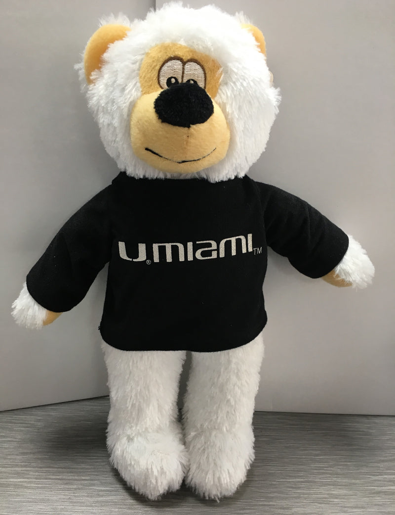 Miami Hurricanes U Miami Stuffed Bear