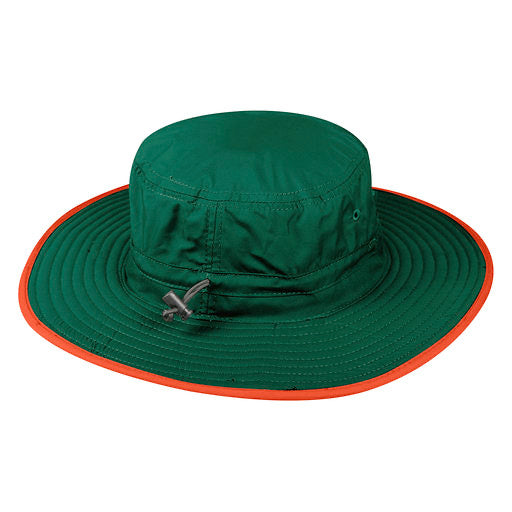 Miami Hurricanes Top of the World Chili Dip Bucket Hat - Green/Orange