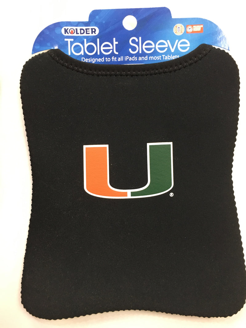 Miami Hurricanes Tablet Sleeve