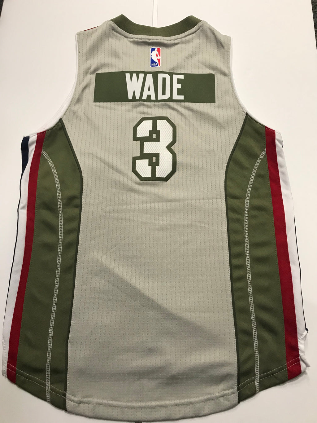 341b6700eaac Miami Heat Home Strong Wade Jersey - Youth
