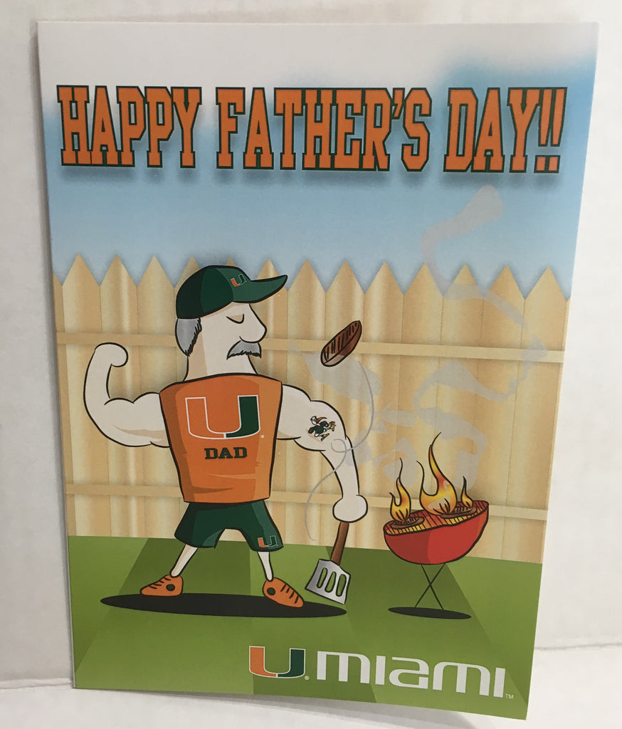 Happy Father's Day Card - BBQ Dad
