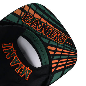Miami Hurricanes Top of the World Xplosion Snapback Hat