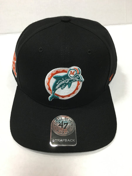 8cd49df5c94 Miami Dolphins Super Shot Captain Wool Snapback Hat - Black – CanesWear at  Miami FanWear