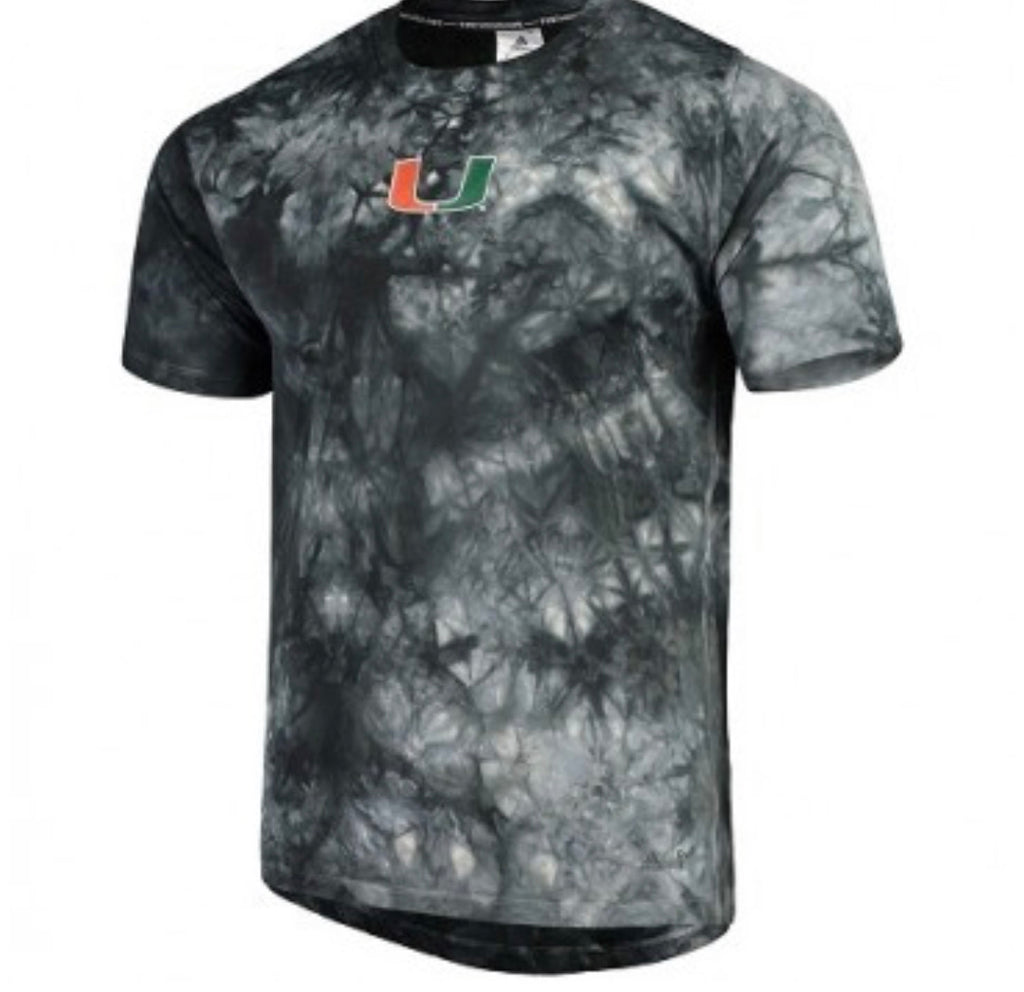 Miami Hurricanes 2019 Parley 3S T-Shirt - Black/White