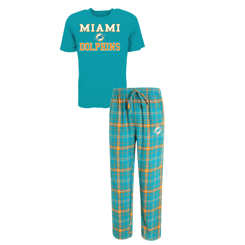 Miami Dolphins Halftime Men's Pajamas Sleep Set