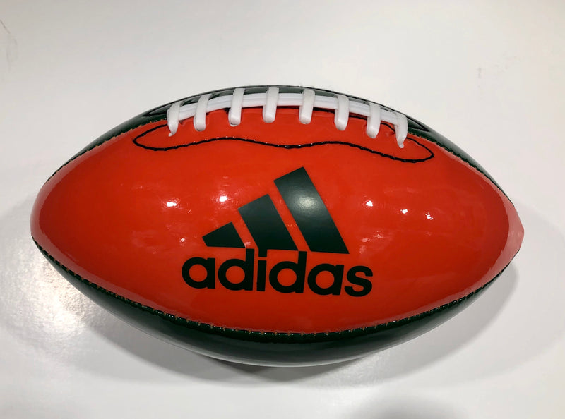 Miami Hurricanes adidas Adiblitz University Mini Glossy Football
