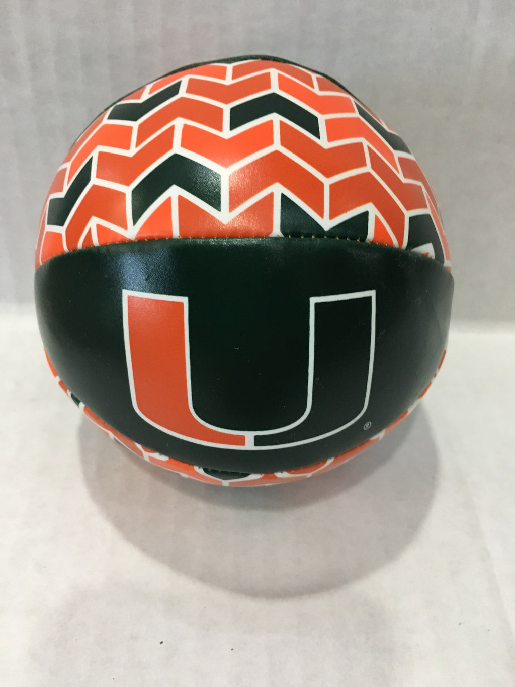 Miami Hurricanes Softee Mini Basketball