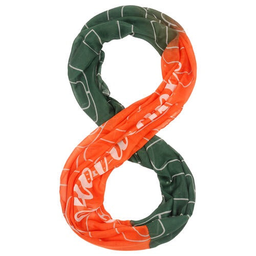 Miami Hurricanes Infinity Scarf