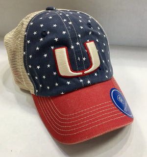 Miami Hurricanes Freedom Stars & Stripes Trucker Hat