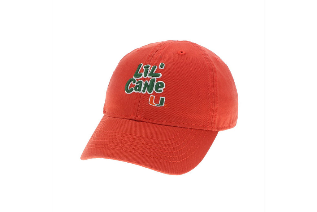 Miami Hurricanes Lil' Cane Toddler Hat- Orange