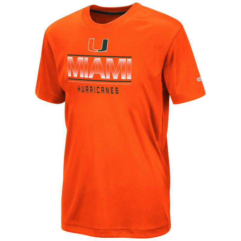 Miami Hurricanes Colosseum YOUTH SKIPPY S/S TEE - ORANGE