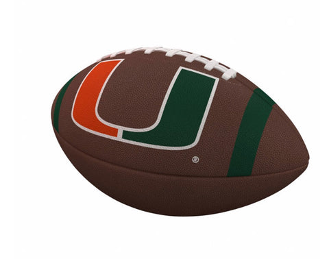 8be53f07f40 Miami Hurricanes Logo Full Size Composite Football