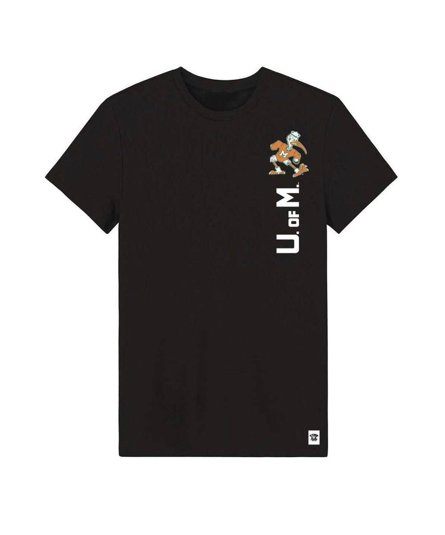 Miami Hurricanes Dyme Lyfe U of M Tee - Black