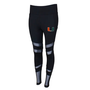 Miami Hurricanes Ladies Interval Sublimated Leggings