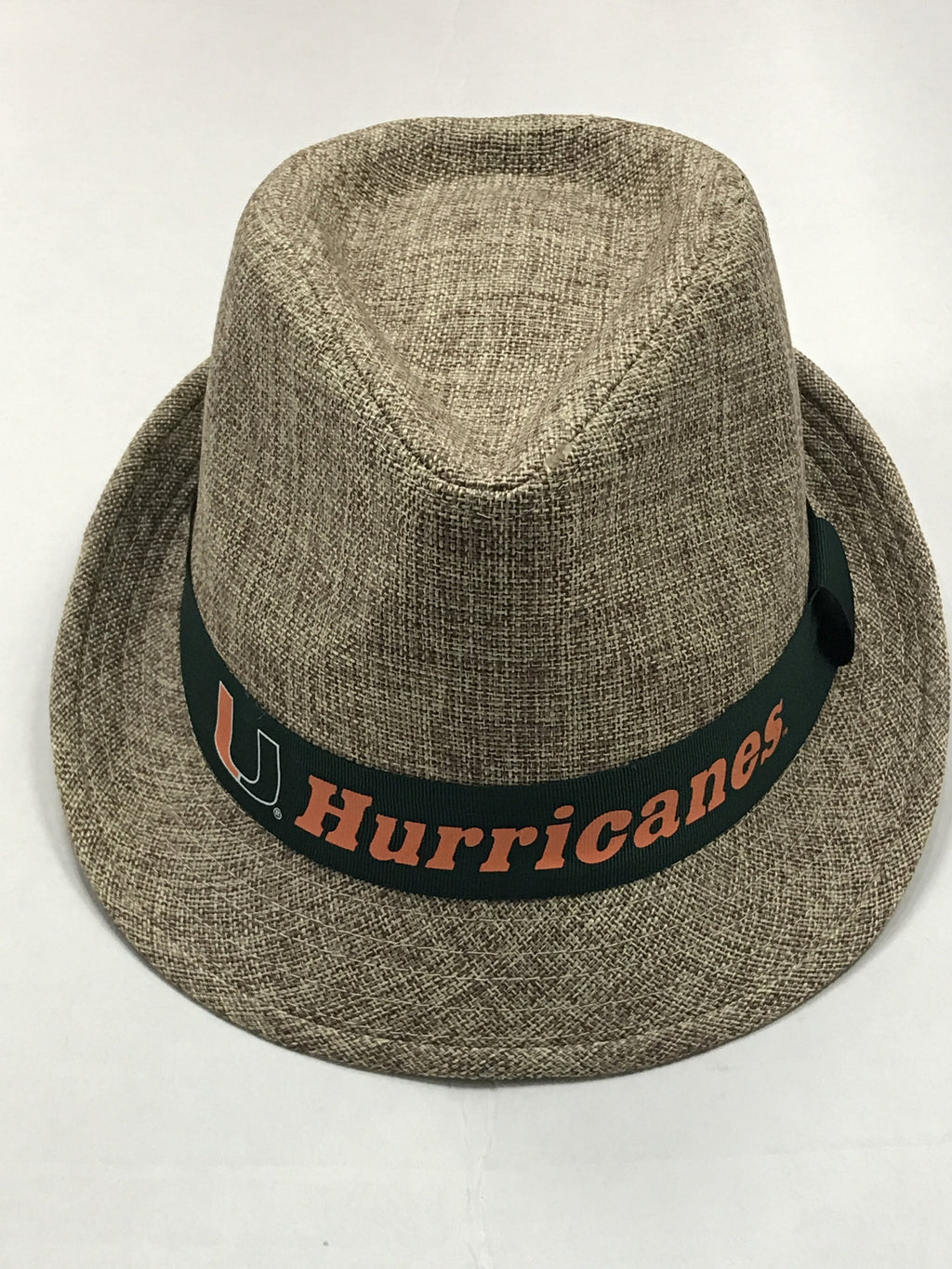 Miami Hurricanes Top of the World First Class Fedora Hat