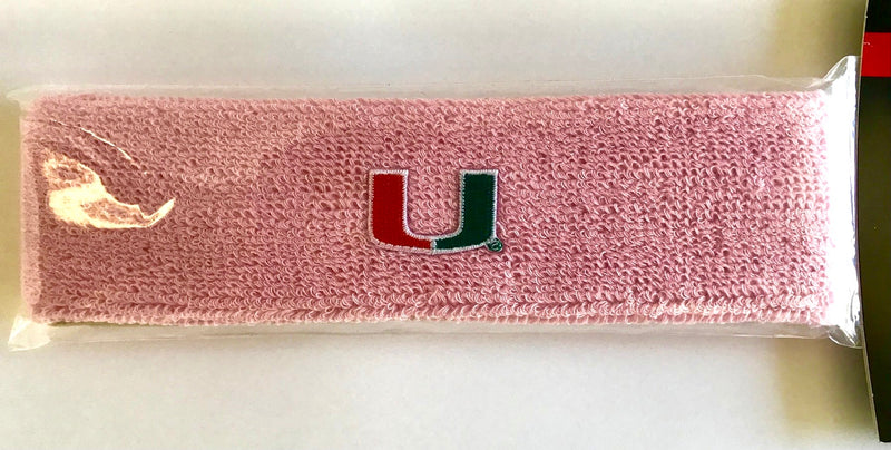 Miami Hurricanes Headband Sweatband
