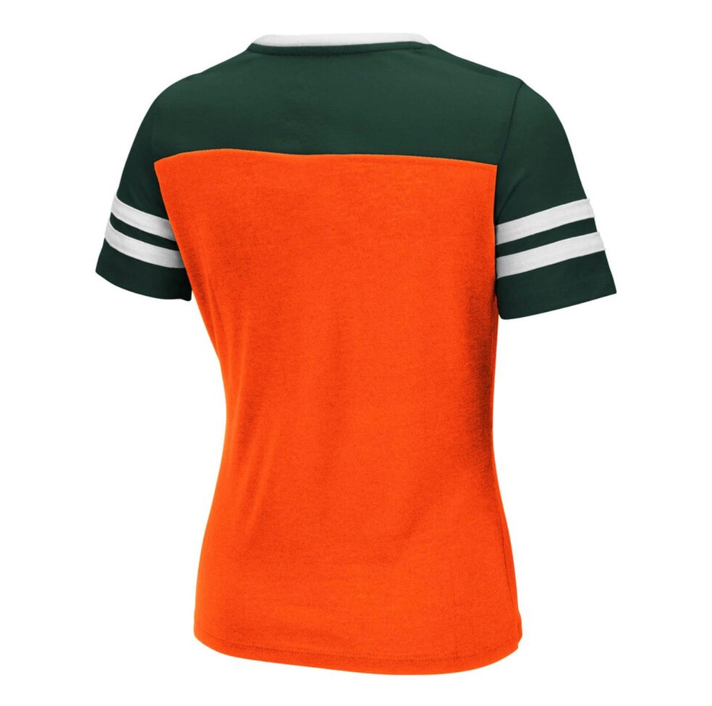 Miami Hurricanes 2019 GIRLS FABOO S/S TEE - ORANGE