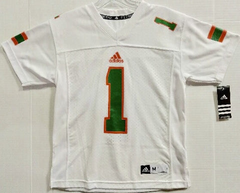 Miami Hurricanes adidas Performance Youth T-Shirt