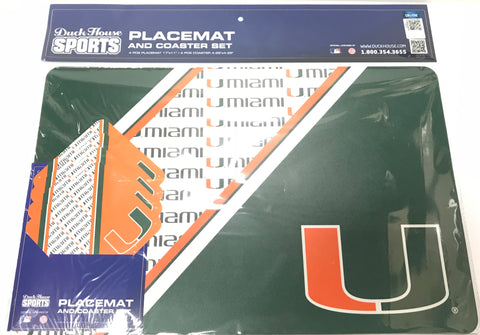 Miami Hurricanes football pig skin can coozie