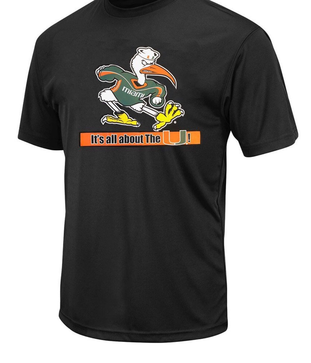 Miami Hurricanes Colosseum Youth Ibis It's All About The U Performance T-Shirt - Black