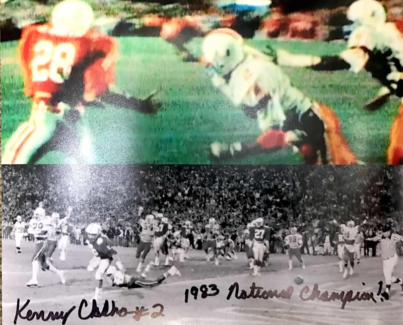 "Autographed Kenny Calhoun ""The Play"" Collage Photo - 8x10"