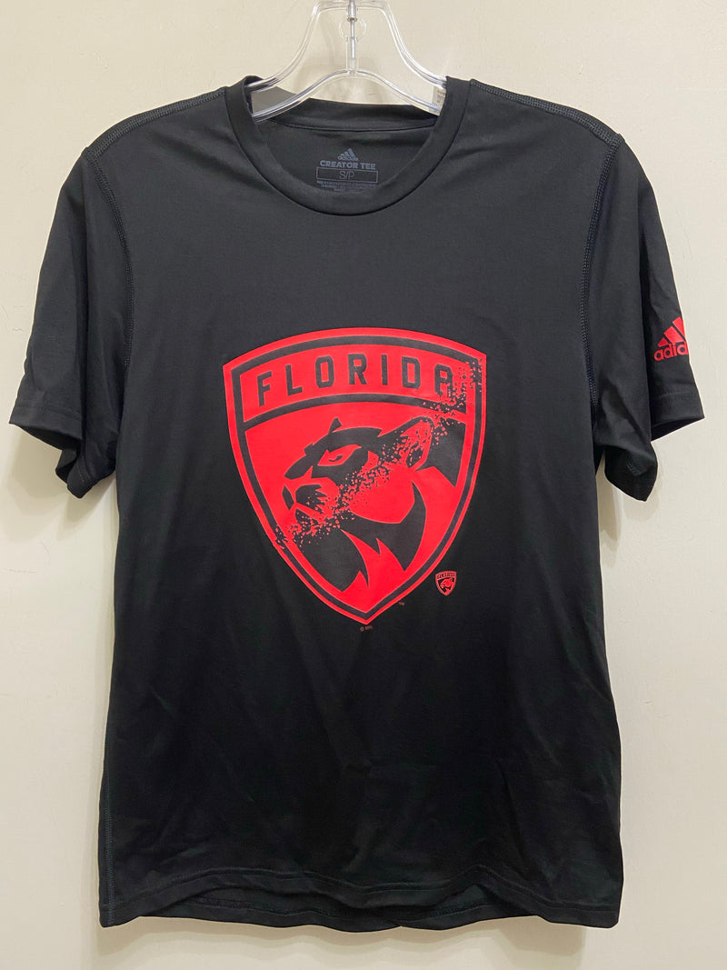 Florida Panthers Creator S/S T-Shirt - Black/Red
