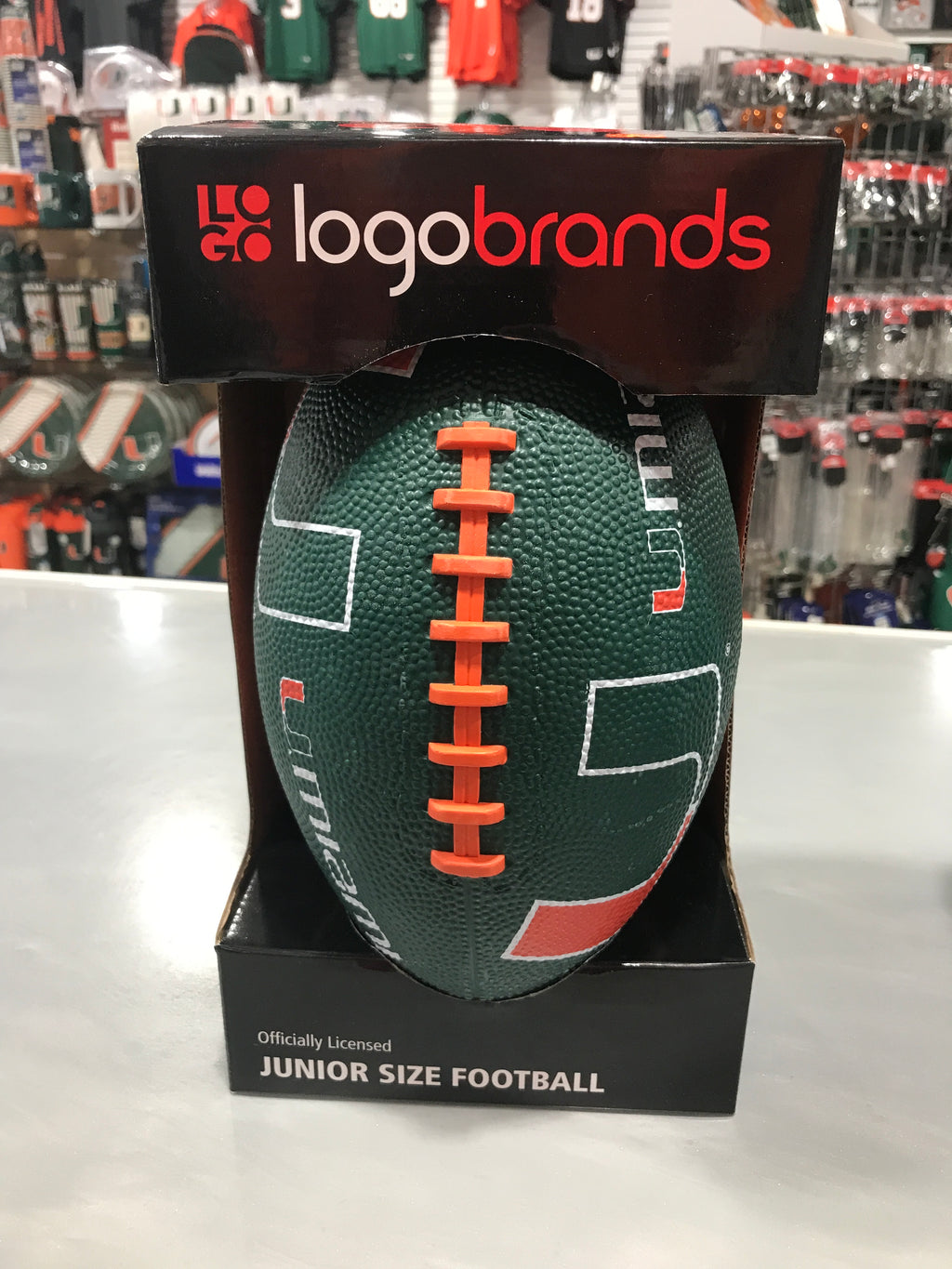 Miami Hurricanes UMiami Junior Size Football