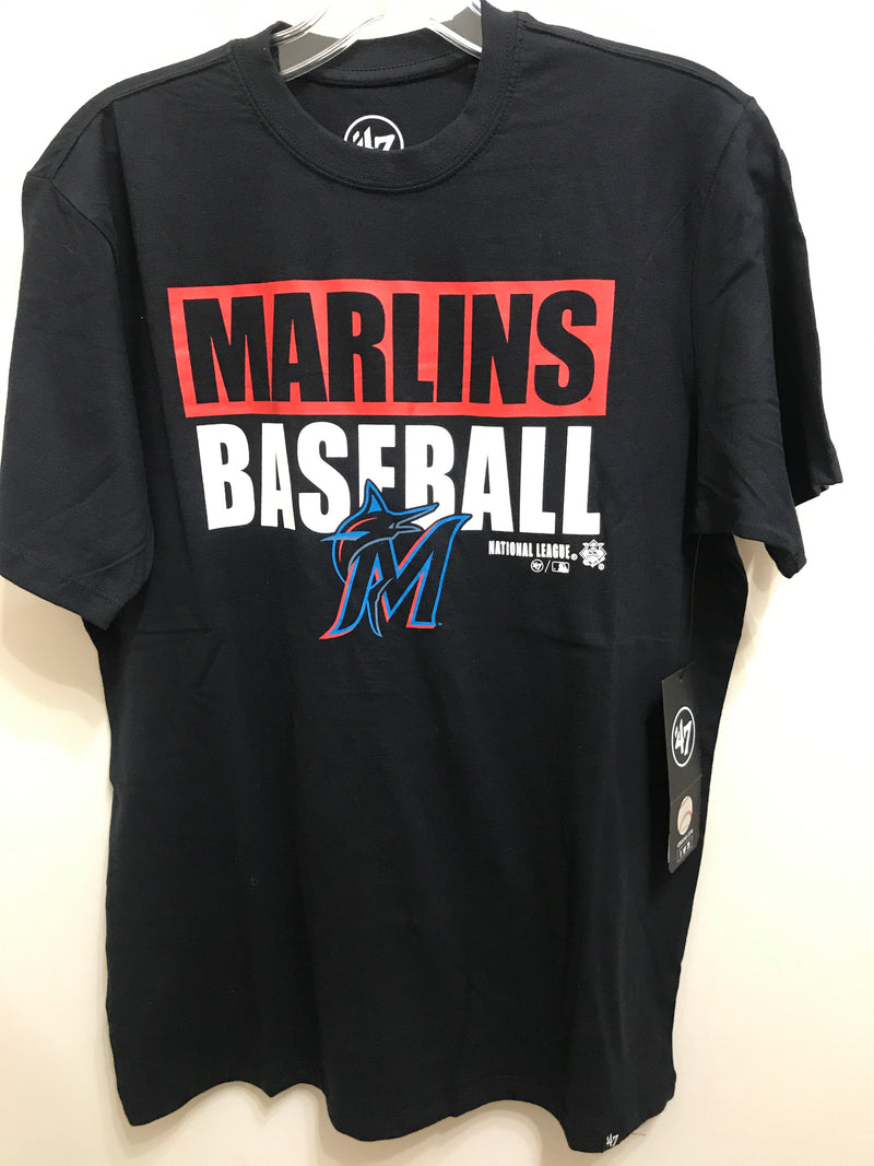 Miami Marlins Blockout Super Rival T-Shirt