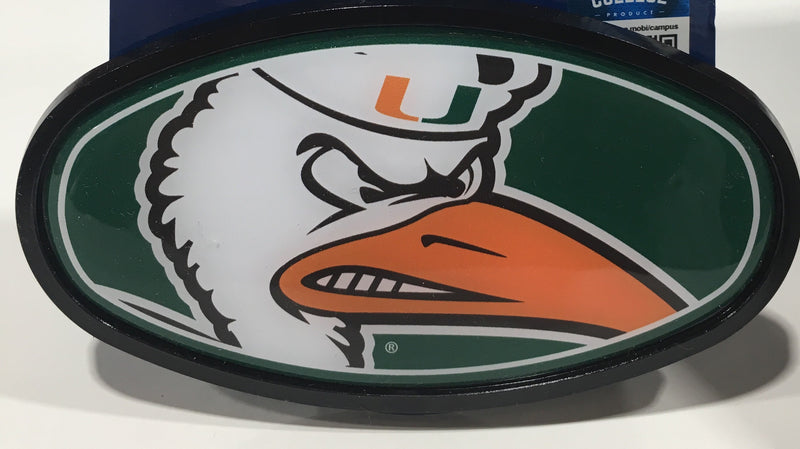 Miami Hurricanes Sebastian Plastic Hitch Cover