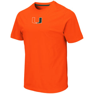 Miami Hurricanes Colosseum MEN'S NORFOLK S/S TEE - ORANGE