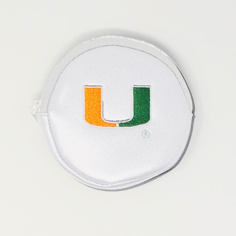 Miami Hurricanes Luca Wallet – Cream