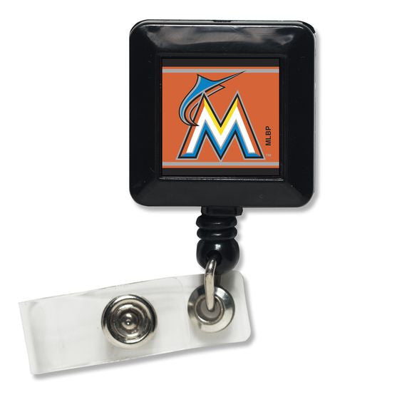 Miami Marlins Badge Holder