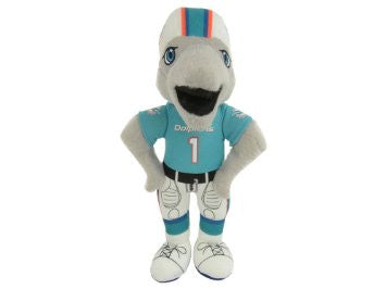"Miami Dolphins 8"" Plush Mascot - CanesWear at Miami FanWear Plush Forever Collectibles CanesWear at Miami FanWear"
