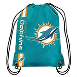 Miami Dolphins Drawstring Backpack - CanesWear at Miami FanWear General Forever Collectibles CanesWear at Miami FanWear