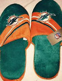 Miami Dolphins Slipper - Aqua & Orange - CanesWear at Miami FanWear Footwear Miami FanWear CanesWear at Miami FanWear