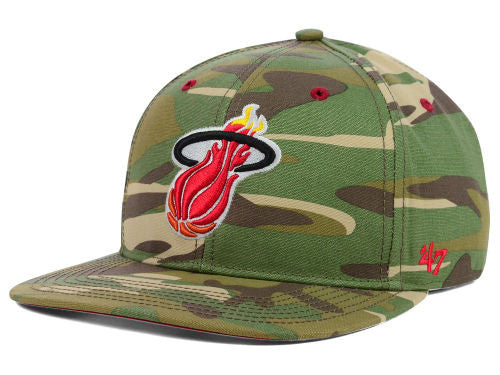 Miami Heat HWC Woodrow Snapback Hat - CanesWear at Miami FanWear Headwear Lids CanesWear at Miami FanWear