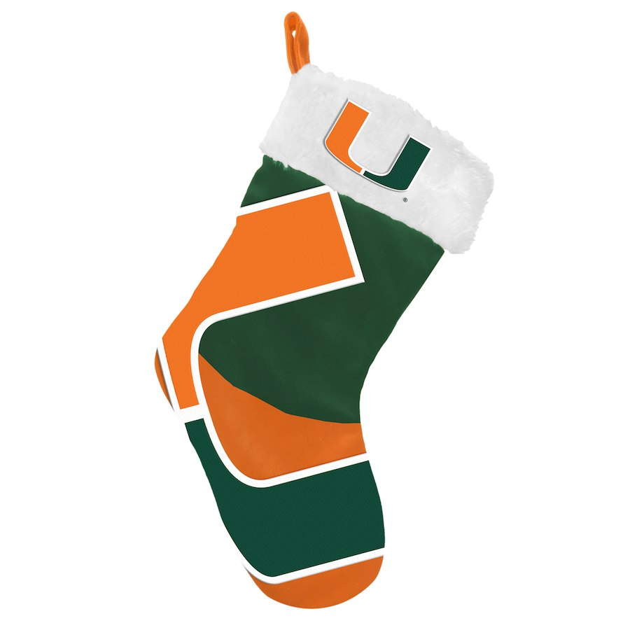 Miami Hurricanes Christmas Stocking